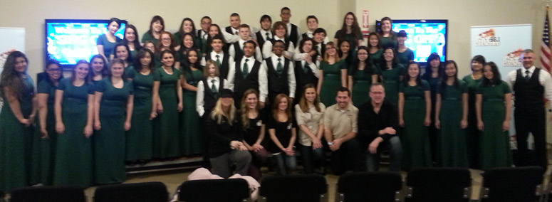 The Cranston East Choir